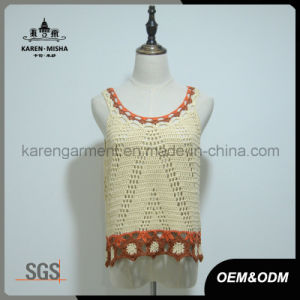 Wholesale Women Crochet Tank Top Vest pictures & photos