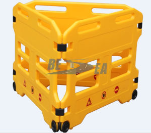 HDPE Plastic Blowing Folding Safety Fence Barrier pictures & photos