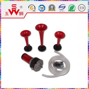 Spiral Red Three-Way Air Horn pictures & photos
