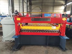 Dx Color Coated Roof Sheet Making Machine pictures & photos