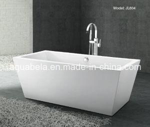 Acrylic Freestanding Bubble Surf Bathtub (JL604) pictures & photos