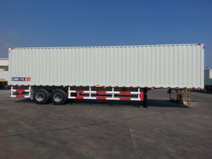 13m Van Semi-Trailer with Two-Axles pictures & photos