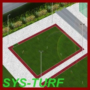 Artificial Grass Turf for Residential Gateball Playground pictures & photos