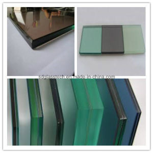 0.38/ 0.52mm PVB/ EVA Film Clear Float Tinted Laminated Safety Glass pictures & photos