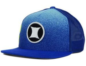 Blue Snapback Trucker Cap with 3D Embroidery Logo pictures & photos