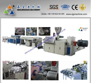CPVC Pipe Production Line/HDPE Pipe Production Line/PVC Pipe Extrusion Line/PPR Pipe Production Line/PVC Pipe Extruder/PVC Extruder/PVC Pipe Making Machine pictures & photos