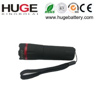 Portable 1W Battery Powered Plastic LED Torch for Camping (KBL-3A) pictures & photos