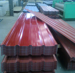 0.3-0.6mm Thickness Color Steel Roof Tile Roofing pictures & photos