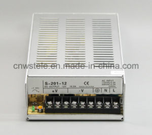 S-201 Series Constant Voltage LED Driver Switching Power Supply pictures & photos