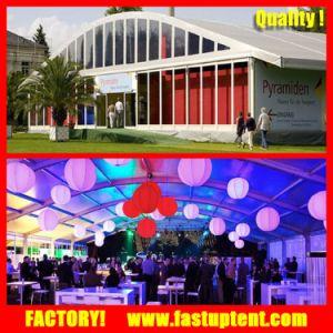 Aluminum Outdoor White Wedding Event Arcum Tent with Air Conditioner pictures & photos