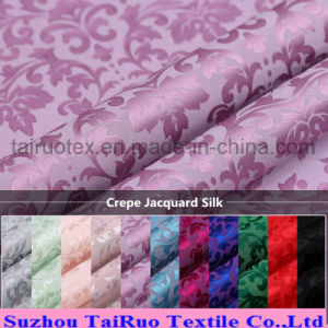 114cm Width Crepe Jacquard Silk for Silk Duvet Fabric pictures & photos