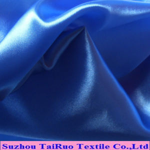 Polyester Smooth Surface Satin for Lady Dress Fabric pictures & photos