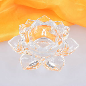 Glass Candle Sticker Crystal Wedding Desk Decors pictures & photos