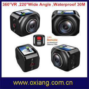 360 Degree Vr WiFi Sport Action Camera 220 Degree Wide Angle Sport Camera pictures & photos