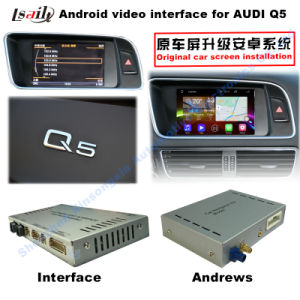 Car Upgrade Multimedia HD Android System GPS Navigation Video Interface for Q5 Support DVD/TV/Mirrorlink pictures & photos