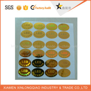 Top Quality Self Adhesive Custom Security Anti-Counterfeiting 3D Hologram Sticker pictures & photos