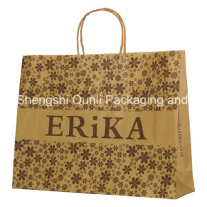 Kraft Paper Bag in Low Price (SSQL-PA-K009)