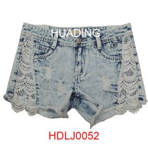 2016 Wholesale Garment Jeans Short Denim Short (HDLJ0053) pictures & photos