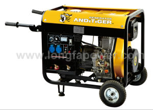 5kVA Diesel Generator Open Type Generator Price with Ce, Soncap pictures & photos