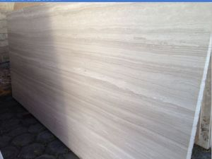 Polished Timber White Marble Flooring and Marble Wall Covering Tiles pictures & photos