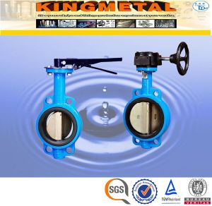 10 Inch CF8m Stainless Steel Butterfly Valve Types pictures & photos
