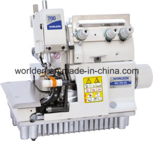 WD-700-3G Ultra-High Speed Gloves Overlock Sewing Machine pictures & photos