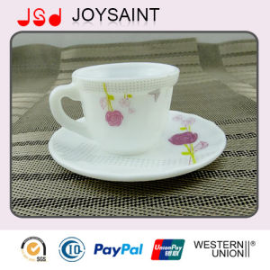 Opal Glass coffee Cup and Saucer 190cc