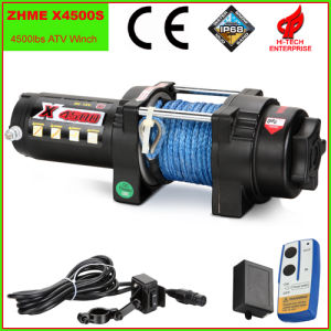 4500lbs Auto Electric Winch with Synthetic Rope pictures & photos