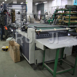Automatic PE Zipper Bag Making Machine with Folder pictures & photos