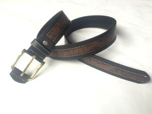 Classic and Basic Man Belt with Split Leather Linning M619 pictures & photos