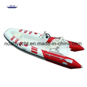 Luxury Orca 828 Hypalon Tube Rigid Fiberglass Hull Rib Boat Rib470c for Sale pictures & photos