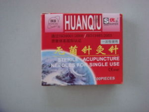 0.25X13mm Acupuncture Needle - Huanqiu Brand pictures & photos