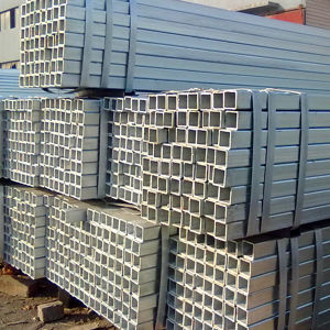 Q195 Galvanized Steel Square Tube pictures & photos