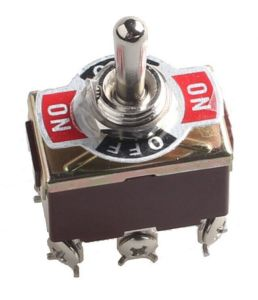 Heavy Duty 20A 125V Dpdt 6pin on/off/on Rocker Toggle Switch Latching pictures & photos