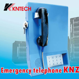 Telephone with Handset for Bank Services Phone Call (KNZD-22) Kntech pictures & photos