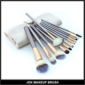 12PCS Makeup Brush Set with Fan Brush Cosmetic Tool Set