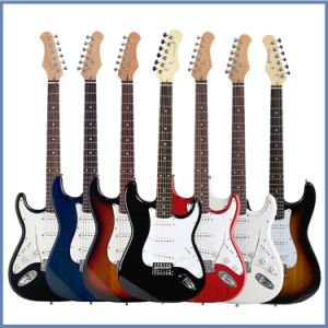 Hollow Body Electric Guitar for Young Man pictures & photos