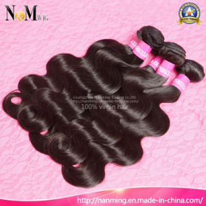 Cheap Peruvian Virgin Hair Body Wave Natural Hair Weaves pictures & photos