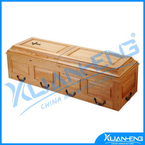 Wood Coffin for Cremation for Spanish Market pictures & photos