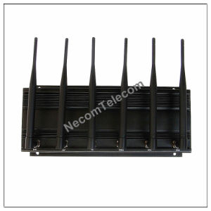 Cell phone jammer MS - 3-Band Frequency Portable High-Power Remote Jammer