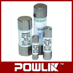 Rt14 Wholesale Ceramic Thermal16A Fuse with Base pictures & photos