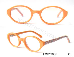 Acetate in HD Print Custom Logo Eyeglasses Frame pictures & photos