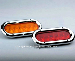 "6"" Oval LED Tail Light pictures & photos"