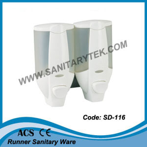 Double Manual Soap Dispenser (SD-116C) pictures & photos