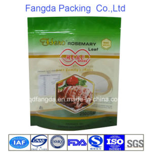 Stand Zipper Plastic Bag for Spices Packaging