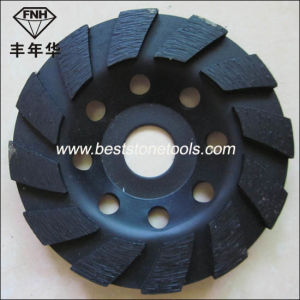 Cw-7 Diamond Cup Grinding Disk for Concrete Stone
