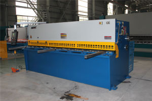 ISO Accurl Brand Hydraulic Guillotine Shearing and Steel Plate Cutting Machine pictures & photos