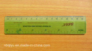 Xf0806 Monterey Pine Straight Wooden Ruler