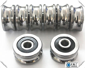 U Groove Bearings, V Groove Ball/Roller Bearing, U Track Roller Bearing pictures & photos