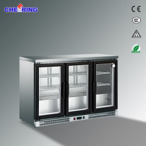 Stainless Steel Counter Top Display Beer Cooler pictures & photos